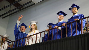 Cumberland Christian Graduation: Friday June 13 2014 Cumberland Christian School Graduation. (The Press of Atlantic City / Ben Fogletto) - Ben Fogletto