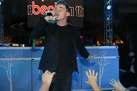 """Jessie McCartney performed at the """"Pool After Dark"""""""