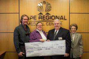 Giving Back briefs: Gift to Cape Regional Medical Center, JFS gets help and other news of the volunteer community