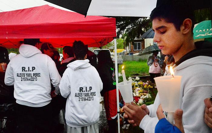 Pleasantville teen vigil