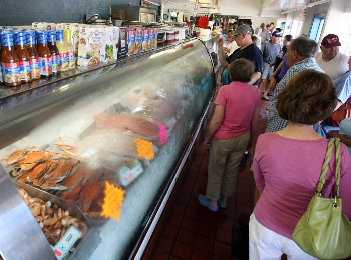 Cape may remains no 2 east coast fishing port breaking for Lobster house fish market