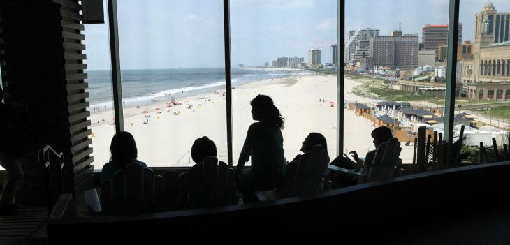 Pier View of Atlantic City