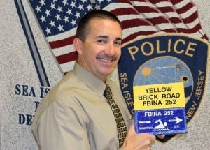 Sea Isle chief finishes yellow brick road run