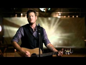1) Blake Shelton - God Gave Me You