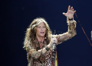 Aerosmith performs at Revel