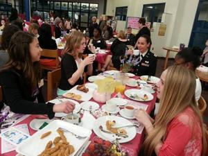 Annual Ladies' Tea gets 6th-graders at Davies excited about their futures
