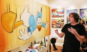 Exhibit leaves Disney characters open to interpretation