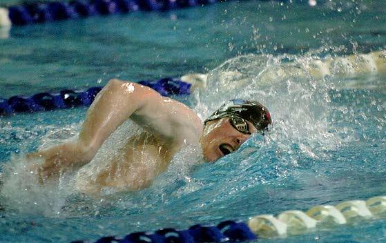 My life: St. Augustine Prep swimmer Paul Gallagher