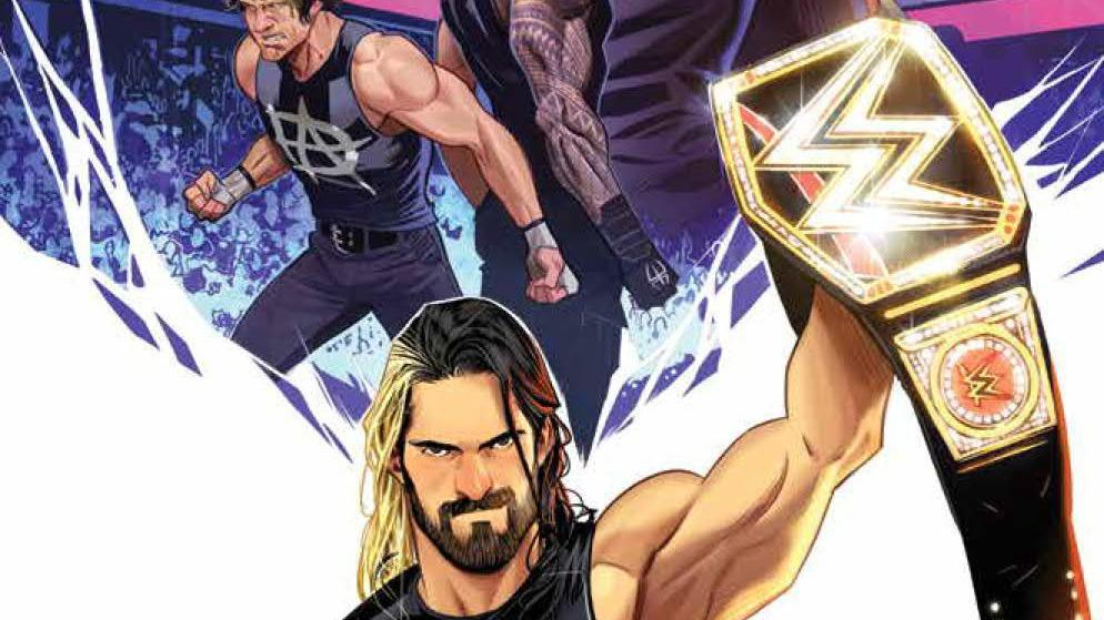 Preview art of BOOM's WWE #1