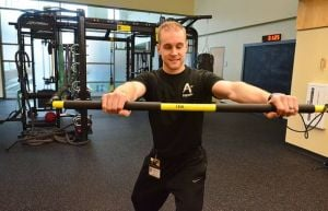 Your workout: TRX  Rip Trainer - straight arm twists