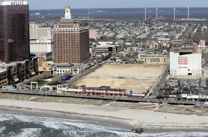 Former sands hotel casino site for Build on your lot new jersey