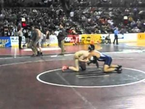 Cesar Balmaceda pin in preliminaries