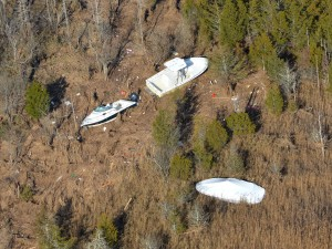 Missing Boats: This was taken from a helicopter near Dinner Point creek, Nov. 9, 2012. Credit should be Don Freiday/USFWS., Edwin B. Forsythe National Wildlife Refuge  - Photo by Don Freiday