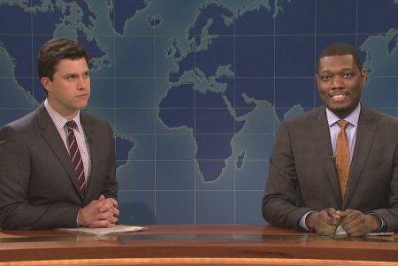 SNL's Michael Che and Colin Jost
