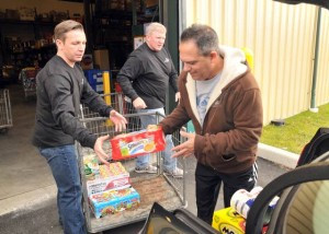 Hurricane Sandy spurs increased donations to FoodBank