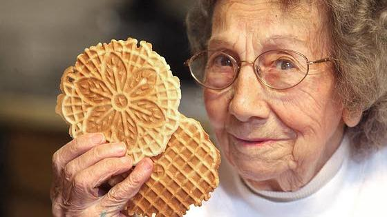 Legacy Recipes: Galloway's Rose Miller, 97, well-known for her pizzelles
