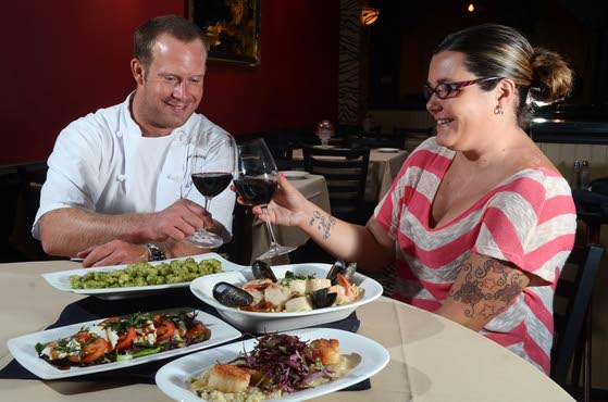 Traditional TransformationGioia offers classic Italian food with contemporary flair