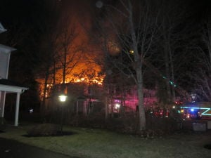 Galloway townhouse fire