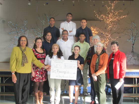 Giving Back briefs: Woodbine Elementary receives church grants, Morey's Piers makes donations and other news
