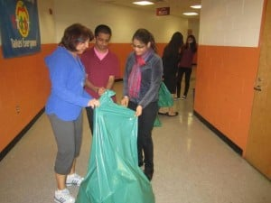 Key Club lobbies for, finally sets up recycling at Pleasantville High School