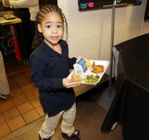 DINNER AT SCHOOL