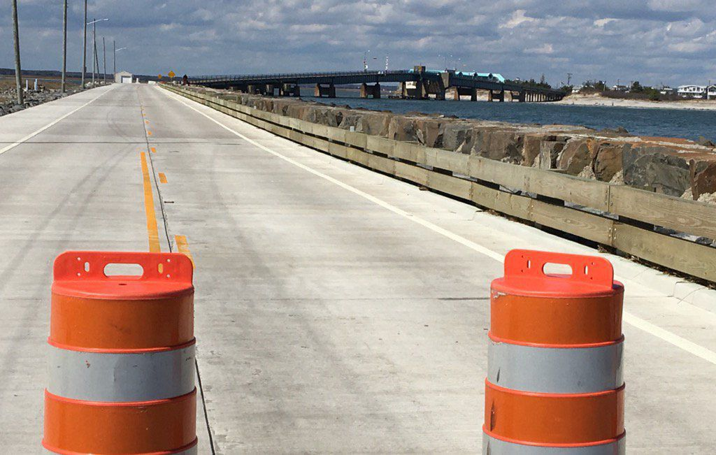 Townsends Inlet bridge closed