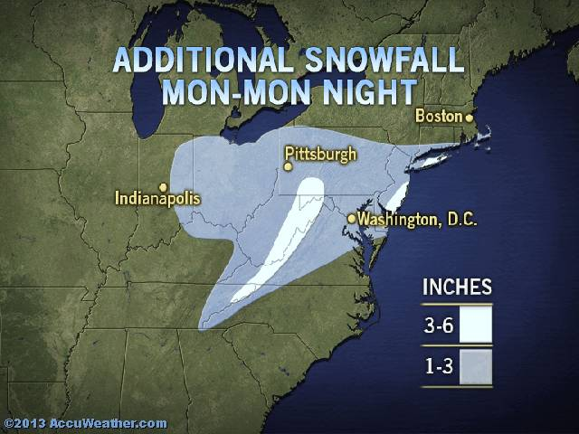 snow map March 25