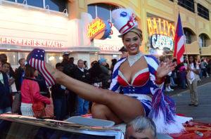 Miss America Parade: Miss Pennsylvania Annie Rosellini - Vernon Ogrodnek