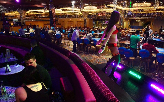 are there 5 blackjack tables in atlantic city