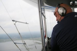 Sand in my Shoes: Soaring over the sand in the Horizon blimp
