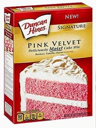 Food briefs: Pink and Blue Velvet cake mixes, chocolate chip cookie mix
