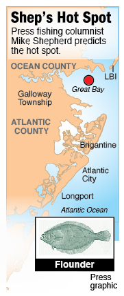 hot spot flounder great bay