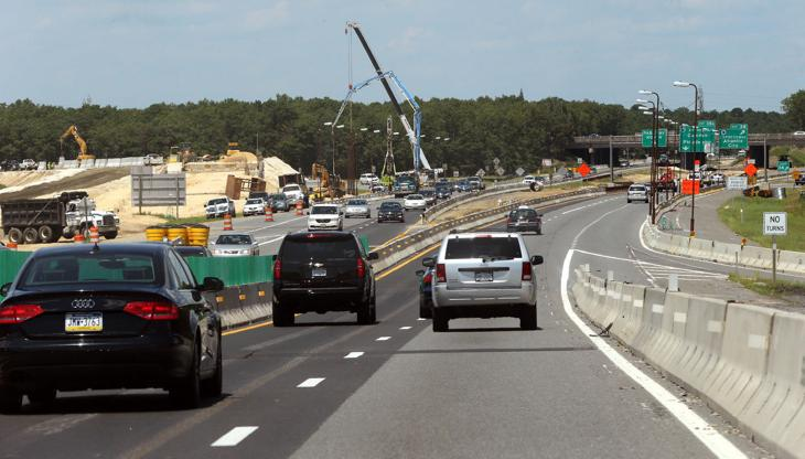 Garden State Parkway Construction Project Focuses On New Exits Press Of Atlantic City