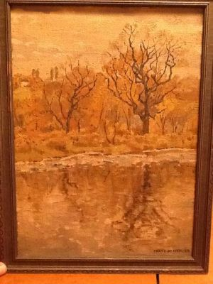 Antiques & Collectibles: Personal message may enhance notable artist's gift