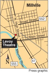 Levoy Theatre site