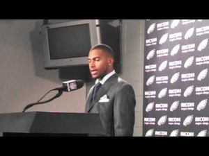 Eagles WR DeSean Jackson talks about the loss to the Chargers