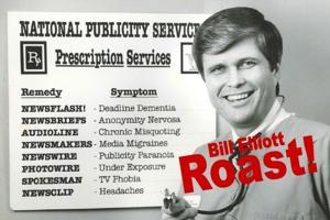 Bill Elliott roast invitation