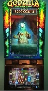 Mr. AC Casino: Godzilla invades Atlantic City through new slot machines