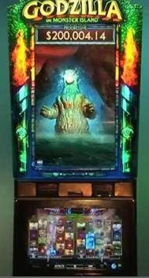 Mr. AC Casino: Godzilla invades Atlantic City through new slot machines