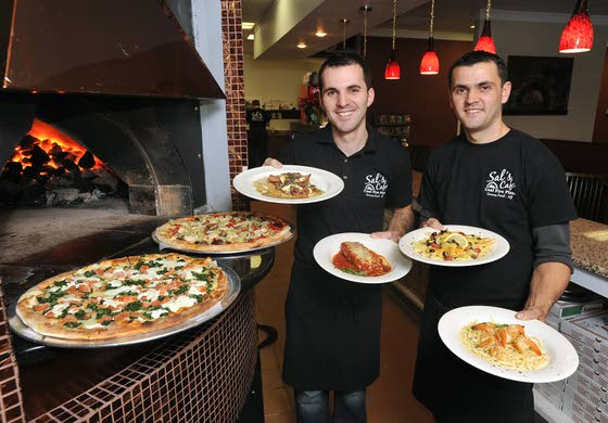 N.J. Pizza Craze Heats UpSal's offers coal-fired pizza and full menu in Somers Point