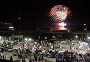 Fireworks: There will be fireworks in four locations this July 4