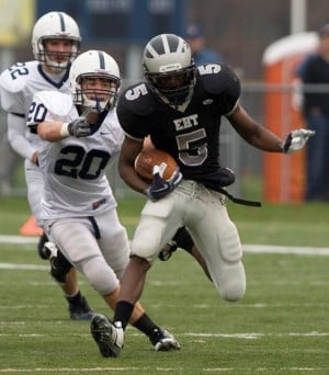 EHT's Tejay Johnson doesn't shy away from contact