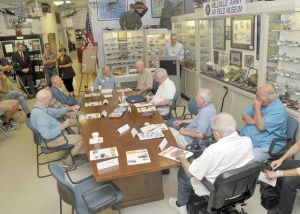 WWII vets share air war memories