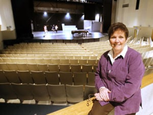 Cape Dance: Kay Aspell of The Middle Township Performing Arts Center in Cape May Court House, said the center has booked four out-of-state dance companies this year that will bring thousands of dancers and their families to Cape May County. - Dale Gerhard