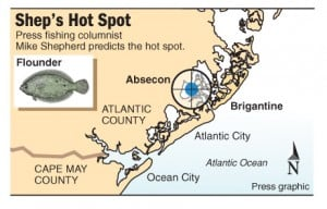 Hot spot Absecon flounder