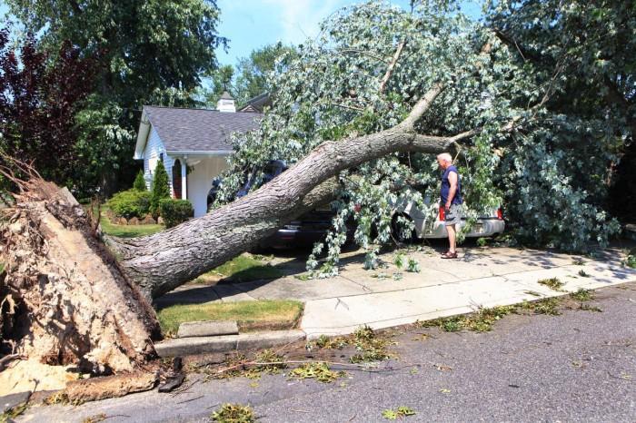 Storm Damage Sunday