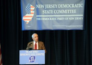 DEMS: State Sen. Frank Lautenberg speaks during the NJ State Democratic Committee Conference held at Bally's Casino Hotel in Atlantic City. Friday May 13 2011.(The Press of Atlantic City/Anthony Smedile) .  - Anthony Smedile