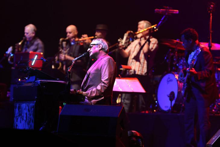 Steely Dan performing to a sold out crowd in  Ovation Hall at Revel