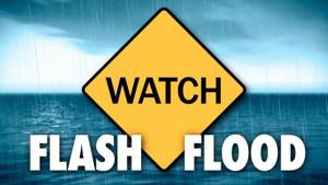 Flash flood watch issued for all of South Jersey