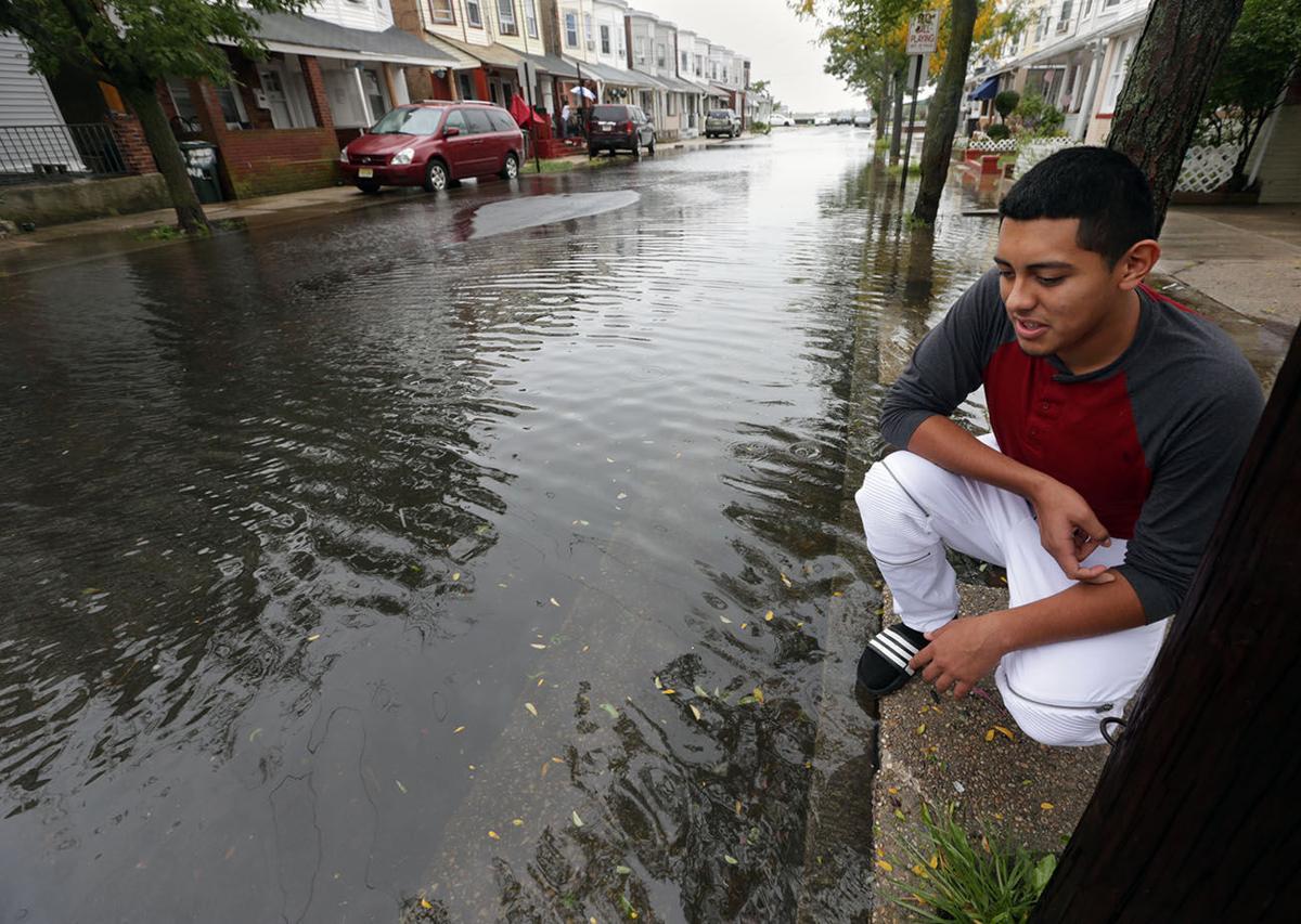Flooding in Atlantic City